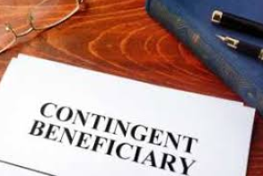 contingent beneficiary minor
